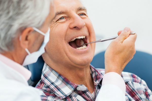 Common oral problems in older adults